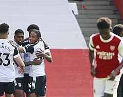 Arsenal pas in 97ste minuut naast Fulham
