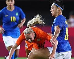 Oranje Leeuwinnen delen de punten na krankzinnig duel