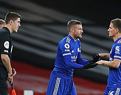 Invaller Vardy kopt Leicester naar zege bij Arsenal