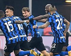 Lautaro Martinez en Conte gaan elkaar te lijf op training bij Inter (🎥)