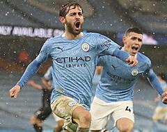 Manchester City wint en staat eerste in Premier League