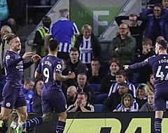 Manchester City maakt er vier op bezoek bij Brighton & Hove Albion