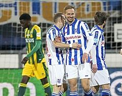 Heerenveen wint door goals De Jong en Veermannetjes