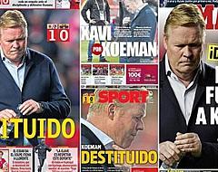 Spaanse kranten doen brute onthulling na Koeman-ontslag