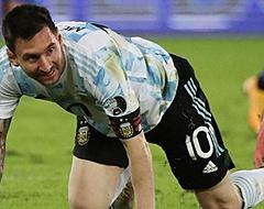 Argentinië laat zege glippen na schitterende vrije trap Messi