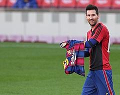 Messi krijgt boete voor eerbetoon aan Maradona