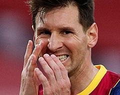 'Lionel Messi weigert terugkeer bij FC Barcelona'