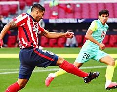 Suárez scoort in de slotfase alsnog bij winnend Atlético (🎥)