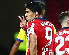Suarez test negatief en staat voor rentree bij Atlético
