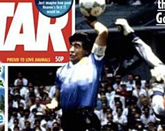 Engelse kranten komen met schandelige cover Maradona