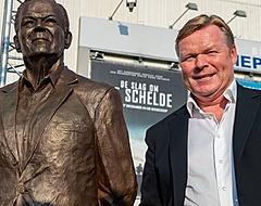 """Standbeeld Martin Koeman onthuld door Ronald en Erwin: """"Trots moment"""""""