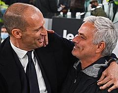 De Ligt-loos Juventus geeft Roma en Mourinho het nakijken