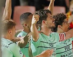 Van Ginkel voorkomt nieuwe blamage PSV tegen moedig Eagles