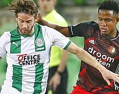Feyenoord mist kansen in Groningen en krijgt te weinig