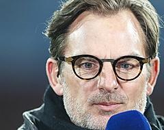 """De Boer laakt Feyenoorder: """"Hij heeft me in de maling genomen"""""""