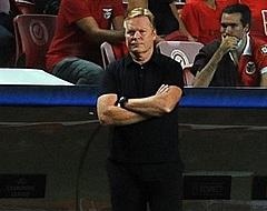 """Koeman beschermt ploeg: """"Goed niveau laten zien, resultaat is niet eerlijk"""""""