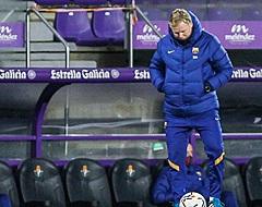 Koeman maakt Barça-spelers met de grond gelijk