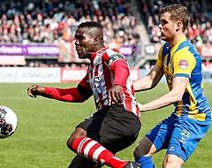 Drenthe trapt na richting Sparta: 'Ben ik teleurgesteld in'