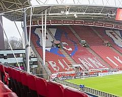 Supporters gooien met aansteker en bier: Utrecht-RKC gestaakt