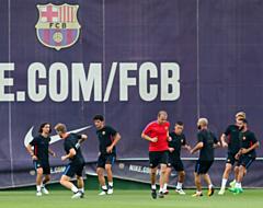 'FC Barcelona-speler op weg naar Londen'