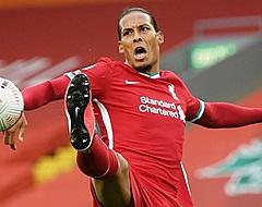 Van Dijk belangrijk bij zege Liverpool, Man City faalt