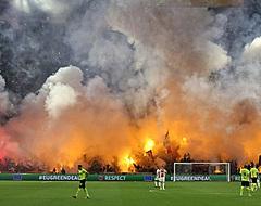 'UEFA gaat Ajax aanpakken na gevaarlijke brandsituatie'