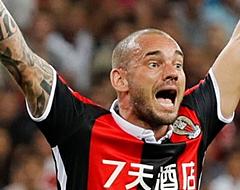 'Bizarre club wil OGC Nice en Sneijder van elkaar verlossen'