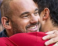 """Sneijder prijst Ajacied: """"Beste man van het veld"""""""