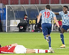 Ajax knikkert AZ uit beker in winderig AFAS Stadion