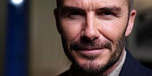 Foto: David Beckham wil debuterende zoon extra hard aanpakken