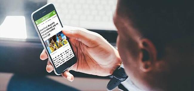 Foto: Download hier de gratis SoccerNews app!