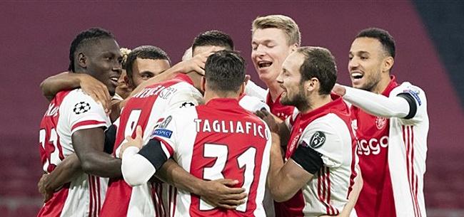 Foto: Sterk Ajax neemt na rust ruim afstand van Midtjylland