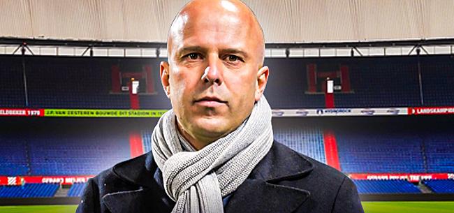 Foto: Slot belandt bij Feyenoord in dramatische situatie