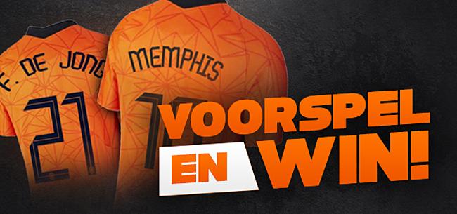 Foto: Voorspel en win een Oranje-shirt van Memphis of Frenkie