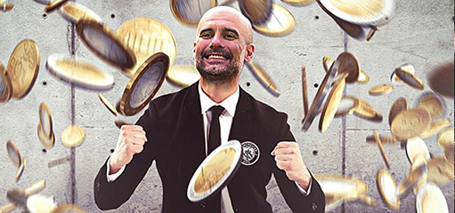 Foto: Droomspits Manchester City kost 75 miljoen euro