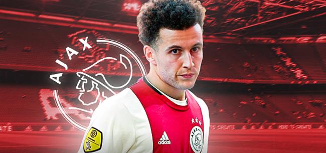 Foto: Ajax maakt Eredivisie-rentree Idrissi rond