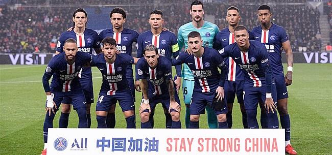 Foto: PSG moet het woensdagavond mogelijk stellen zonder Franse topspeler
