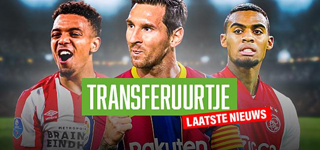 Foto: TRANSFERUURTJE: Ajax-nachtmerrie, waanzinnige Malen-transfer