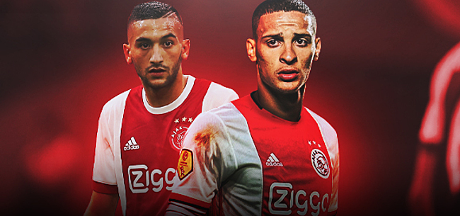 Foto: Antony overklast Ajax-prestaties Ziyech