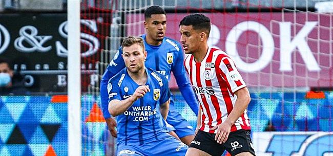 Foto: Sparta ruikt play-offs en geeft Feyenoord hoop