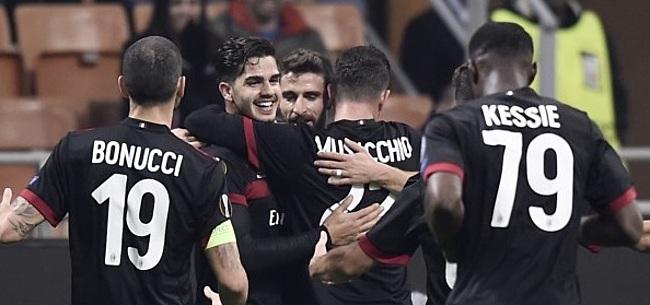 Foto: VIDEO: Ongelooflijke treffer bij AC Milan, enorme pegel in de kruising
