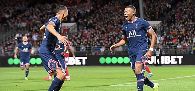 Foto: PSG wint zonder Messi en Neymar van Bizot