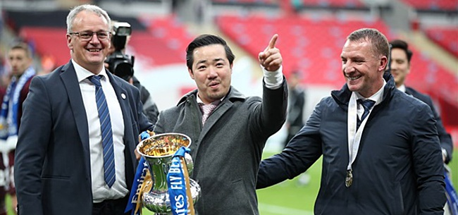 Foto: Leicester City eert familie Srivaddhanaprabha na FA Cup-winst