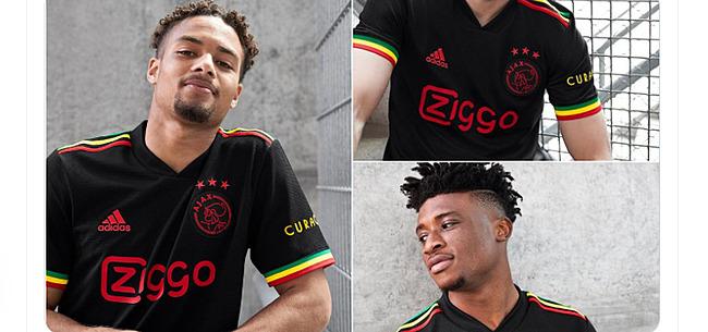 Foto: Buitenland gaat helemaal los over nieuw Ajax-shirt: 'The rumours were true!'