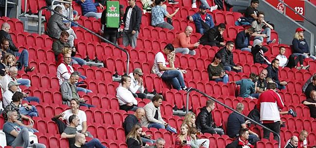 Foto: Supportersvereniging Ajax doet oproep 'kampioensduel'
