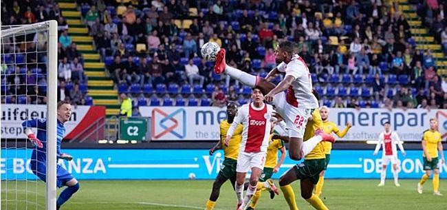 Foto: Ajax brengt doelpuntentotaal naar 19 in 3 duels