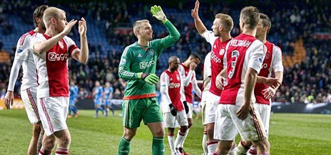 Foto: Loftrompet uitgestoken voor Ajax-uitblinker: