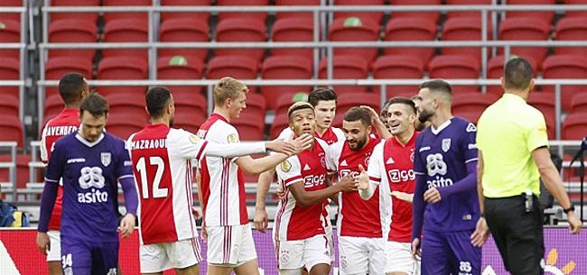 Foto: 'Ajax is de dupe van falende scheidsrechter'