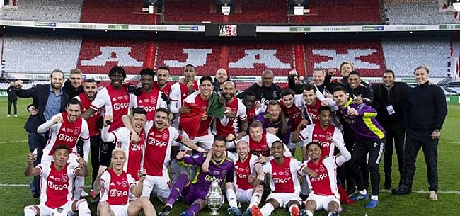 Foto: Fans gaan los over Ajax, Feyenoord én PSV: 'Rot op!'