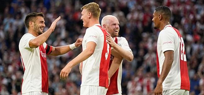 Foto: Ajax maakt excuses na oefenwedstrijd